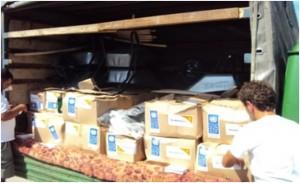 Paketi prve pomoći za poplavom ugrožene porodice